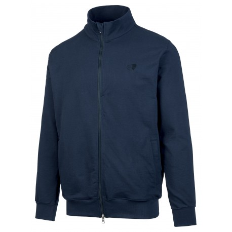 Get Fit Felpa Full Zip Blu