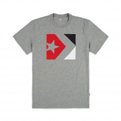 Converse T-Shirt New Logo  Grigio