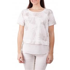Deha T-Shirt Donna Felci Oro Bianco