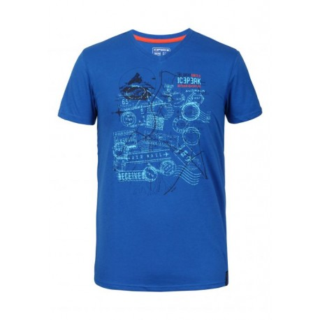 Icepeak T-Shirt Silas Royal
