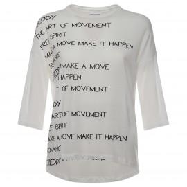 Freddy T-Shirt Donna Ml Bianco