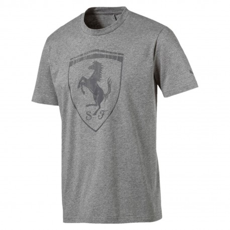 Puma T-Shirt Mm Ferrari Grigio