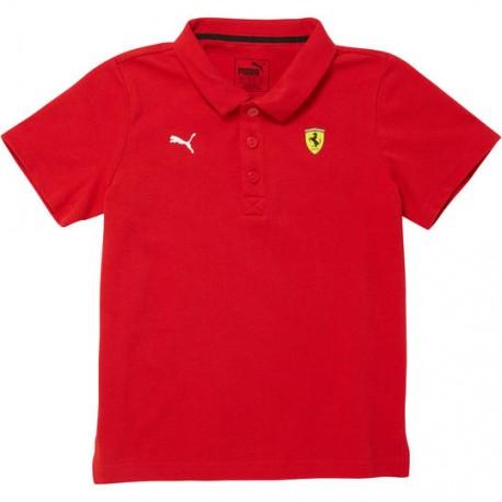 Puma Polo Bambino Mm Ferrari Rosso