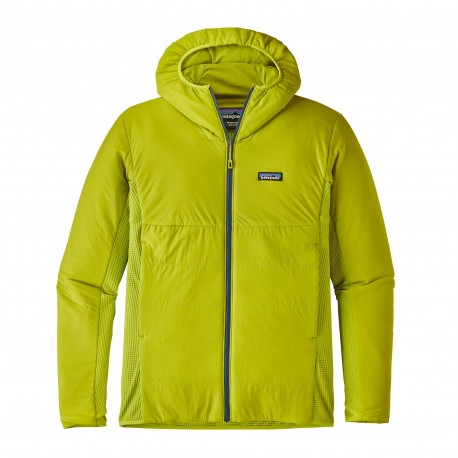 Patagonia Giacca Nano Air Light Hybrid Hoody  Light Gecko Green