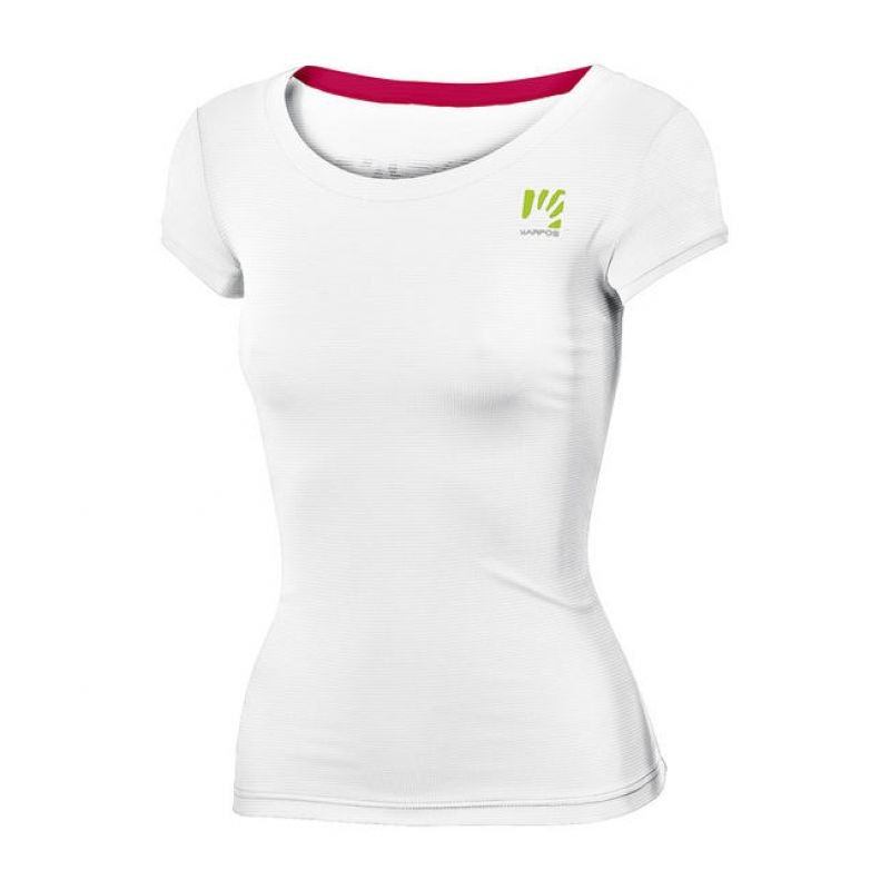 sports shoes ebb53 6c322 Karpos T-Shirt Donna Loma White