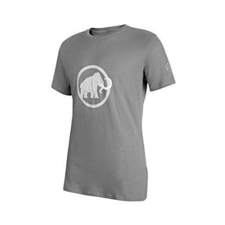 Mammut T-Shirt Logo  Granit White