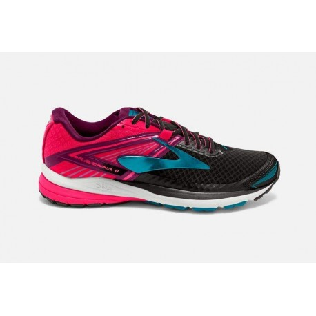 Brooks Ravenna 8 Donna Black/Diva Pink