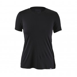 Patagonia T-Shirt Donna Capilene Daily  Black