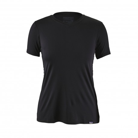 Patagonia T-Shirt Donna Capilene Daily  Black