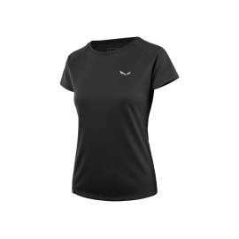 Salewa T-Shirt Donna Sporty Black Out