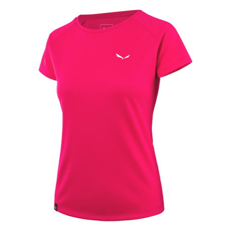 Salewa T-Shirt Donna Sporty  Rose Red