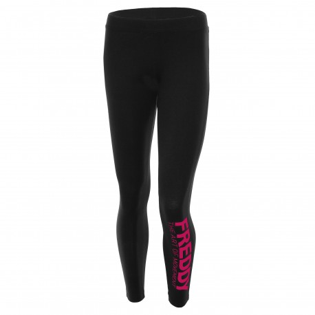 Freddy Tight W Viscosa Logo  Fuxia
