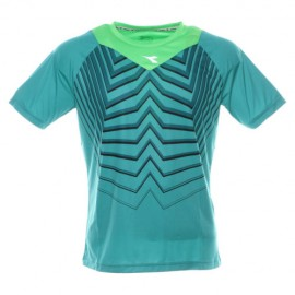 Diadora T-Shirt Mm Run Bright Peacock Green