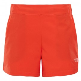 The North Face Short Donna Hikesteller  Fire Brik Red