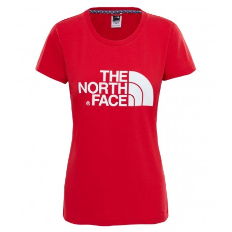 The North Face T-Shirt Donna Easy Tee  Tnf Red