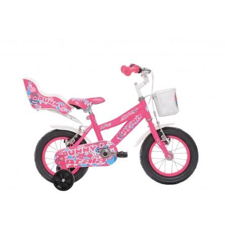 "Atala bicicletta Bunny Girl 12"""