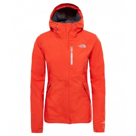 The North Face Giacca Donna Dryzzle Gtx  Fire Brik Red
