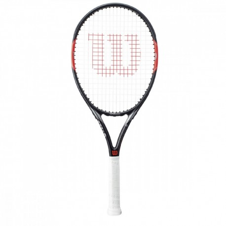 Wilson Racchetta Federer team 105 Nero/Rosso