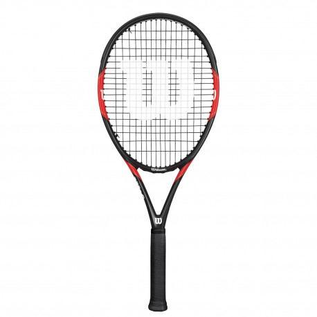 Wilson Racchetta Federer Tour 105 Nero/Rosso