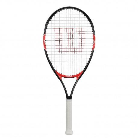 Wilson Racchetta Bambino Roger Federer 26 Nero/Rosso