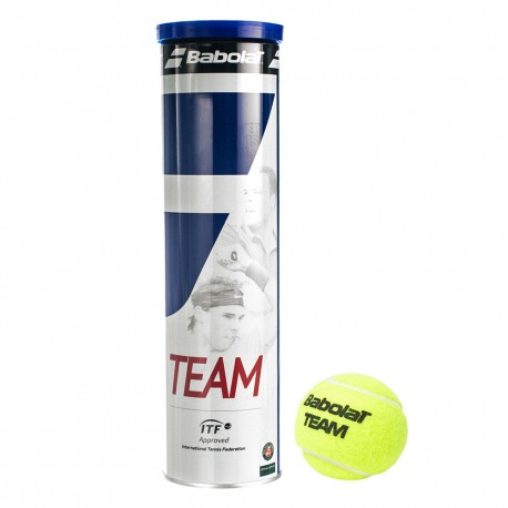 Babolat Tubo Palline Team X4 Blu/Bianco