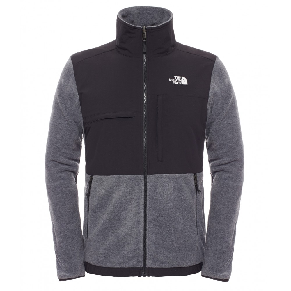 The North Face Pile Denali Ii 300 Polar Charcoal Grey T0CYE4