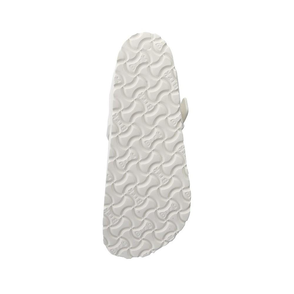 Birkenstock Sandalo Gomma Gizeh Bianco 128221 21b6f0cf0c3