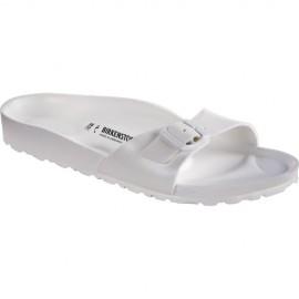 Birkenstock Sandalo Donna Gomma Madrid  Bianco