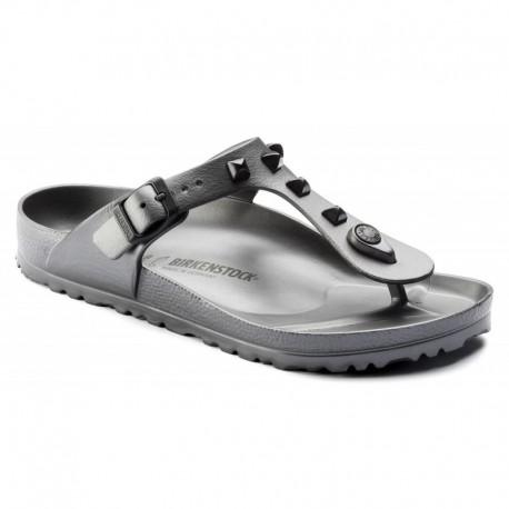 Birkenstock Sandalo Gomma Borchie  Grigio