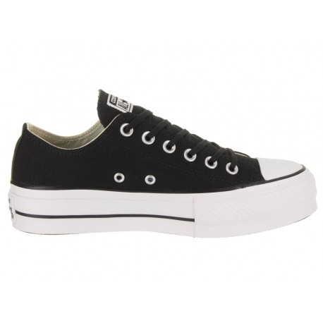 Converse Donna Canvas Platform  Core Ox Nero
