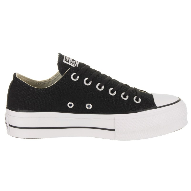 4aed94ef4a Converse Chuck Taylor All Star Lift OX Nero Donna