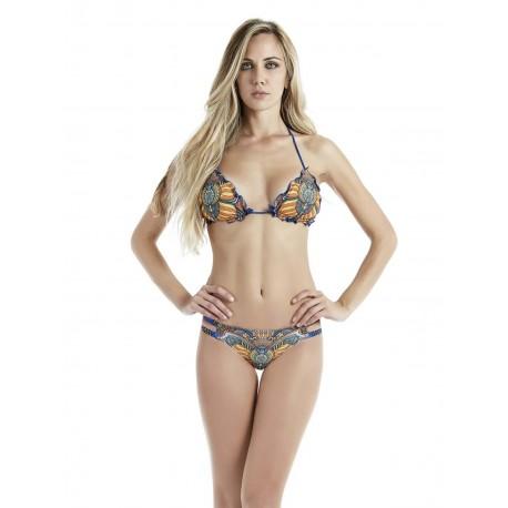 4giveness Bikini Donna Africa Blu