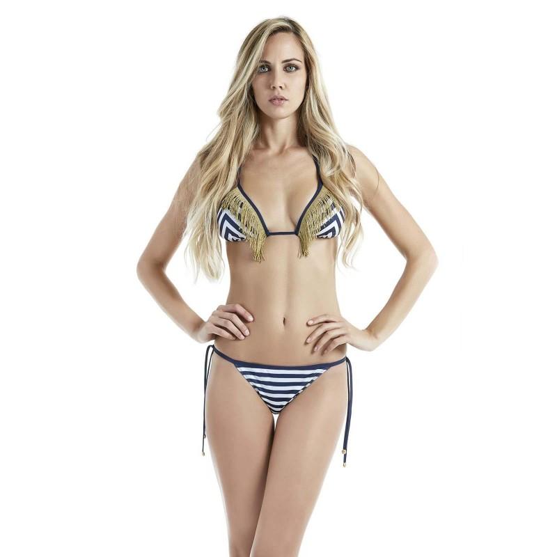 4giveness Bikini Donna St.Tropez Azzurro