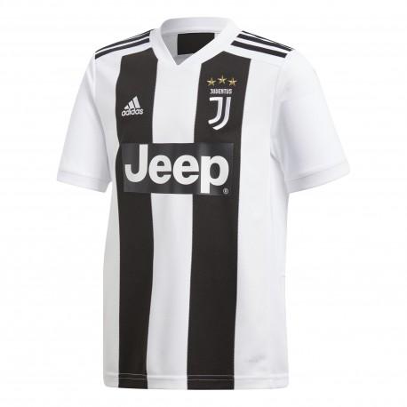 Adidas T-Shirt Bambino Mm Juve Home Nero/Bianco