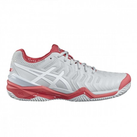 Asics Gel Resolution 7 Donna Clay Glacier Grey/White