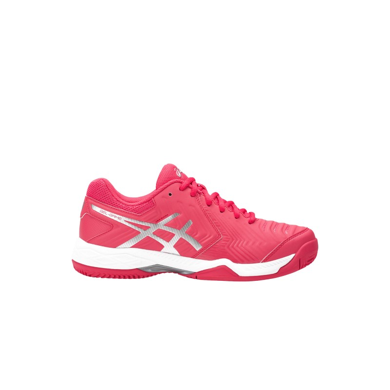 Asics Donna Gel-Game 6 Clay Rouge Red/Silver