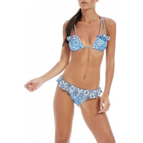 Effek Bikini Donna Fantasia  Azzurro