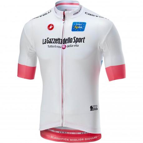 Castelli Maglia Giro Squadra Bianco