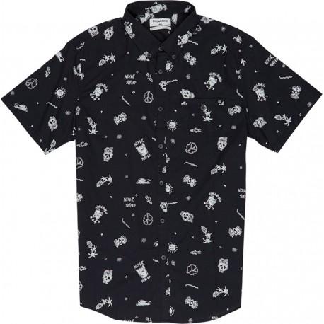 Billabong Camicia Mm Blu
