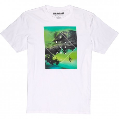Billabong T-Shirt Stampa Bianco