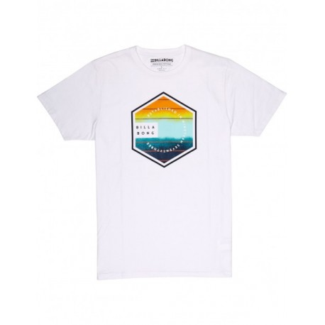 Billabong T-Shirt Logo Bianco
