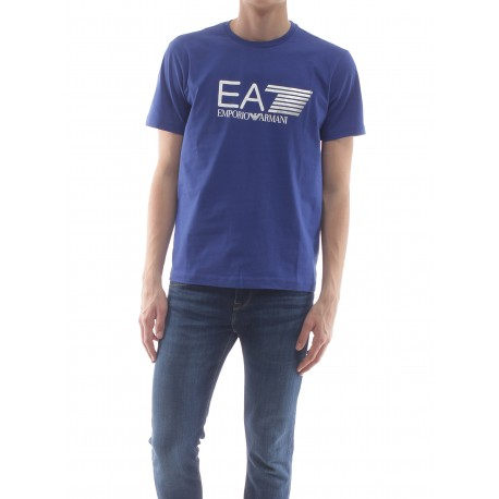 Ea7 T-Shirt Logo Royal