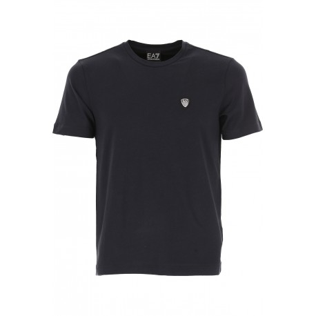 Ea7 T-Shirt Logo Pc Nero