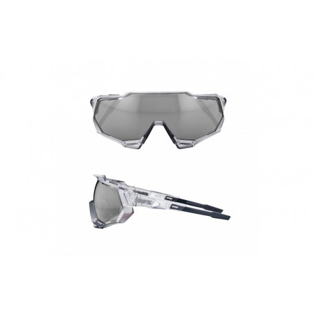 100% Occhiale Speedtrap Matte Translucent Crystal Grey