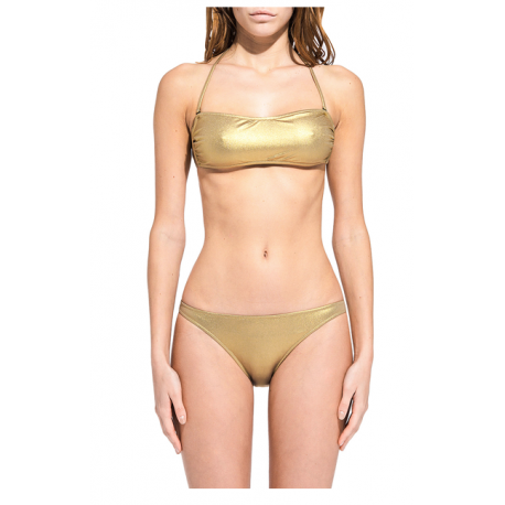 Sundek Bikini Donna Fascia Lurex  Oro
