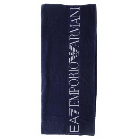 Ea7 Telo Logo Piccolo  Blu