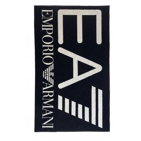 Ea7 Telo Big Logo Nero