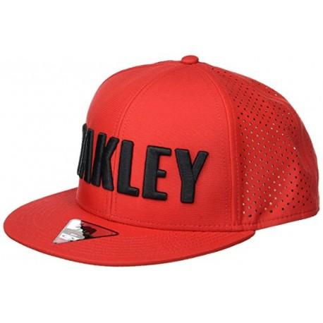 Oakley Cappello Truck Tesa Dritta  Rosso