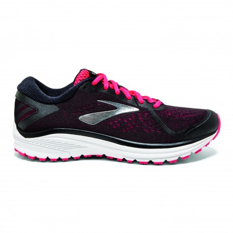Brooks Aduro 6  Black/Pink Donna