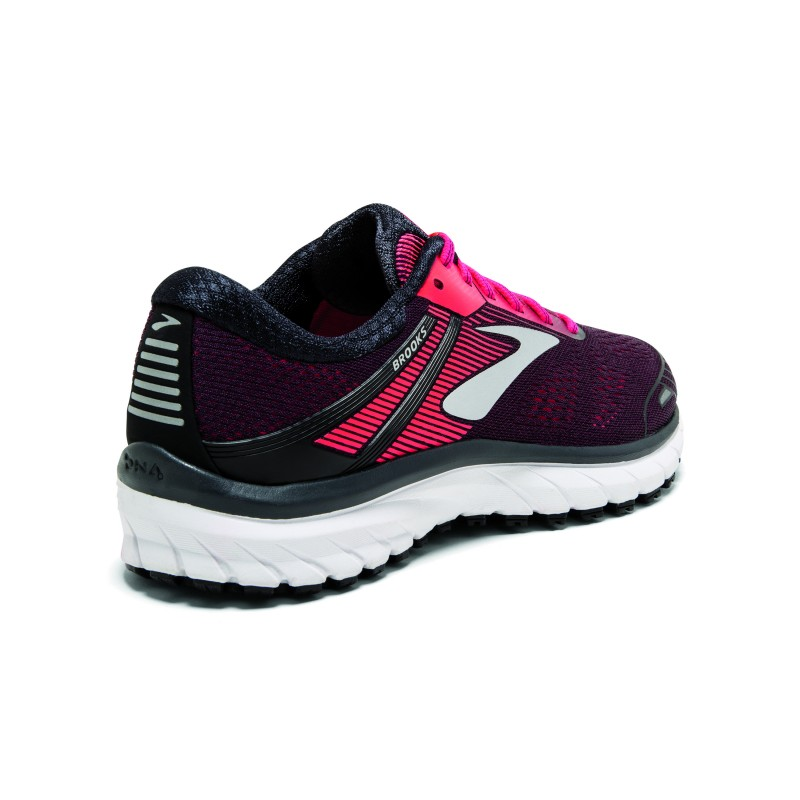 Brooks Adrenaline Gts 18 BlackPink Donna
